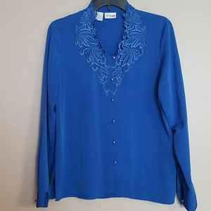 Liz Baker embroidered top